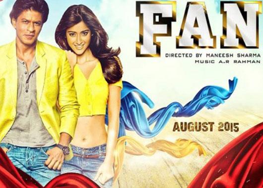 srk fan movie poster