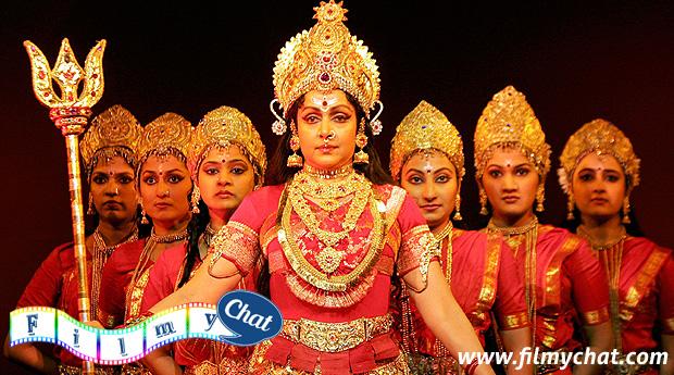 Hema Malini as a Ma Durga