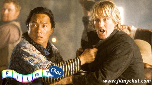 jackie chan with owen wilson in sanghai noon 2000