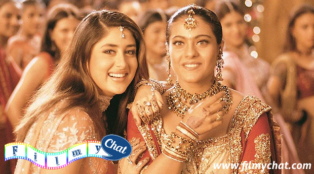 Kareen Kapoor with Kajol in Kabhi Khushi kabhi Gum