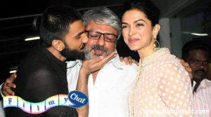 Sanjay Leela Bhansali with bajirao and mastani