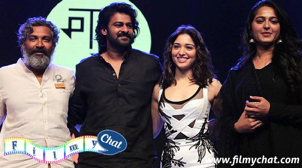bahubali starcast in jio mami film festival. Rajamouli, Prabhas, Tamanna Bhatia and anushka shetty