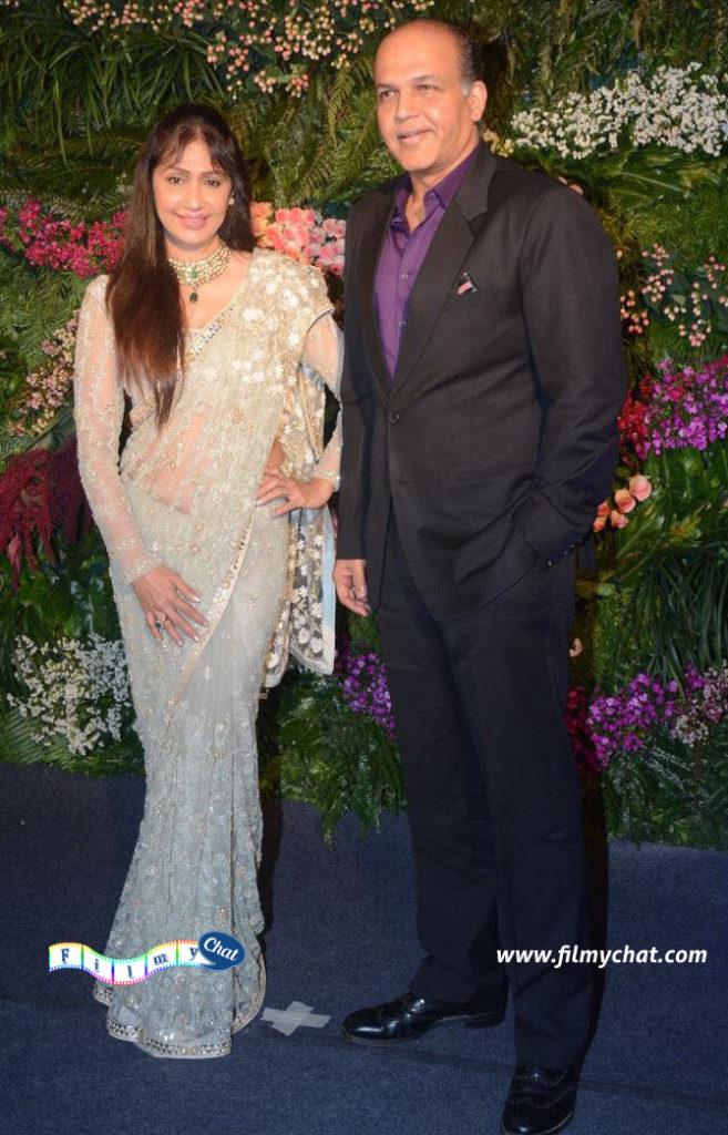 Ashutosh Gowariker and wife Sunita