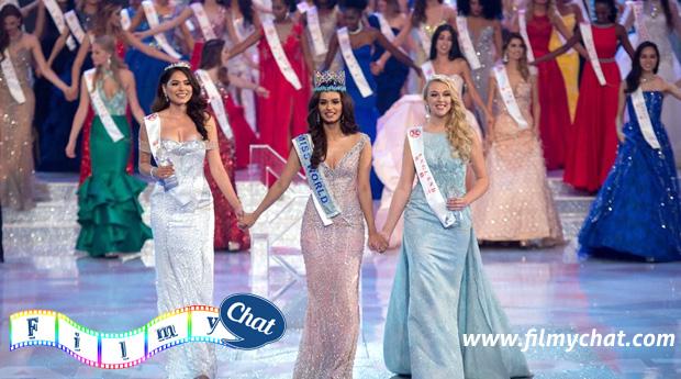 Miss World 2017 Manushi Chhillar