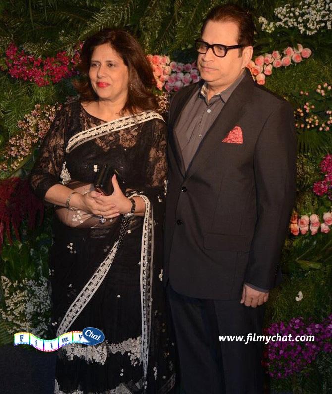 Ramesh Taurani and wife Sneha