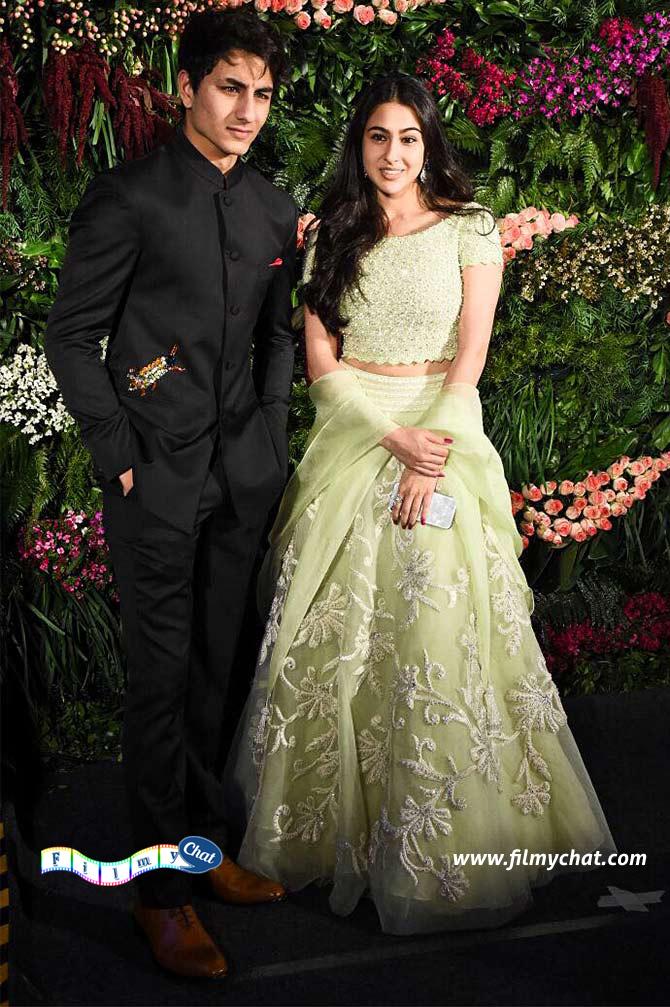 Saif Ali Khan's handsome Sun and Beautiful Daughter- Ibrahim and Sara