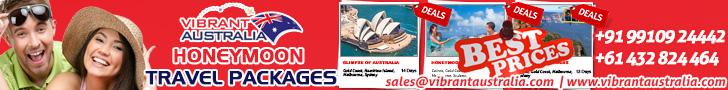 Australia Honeymoon Packages from Delhi